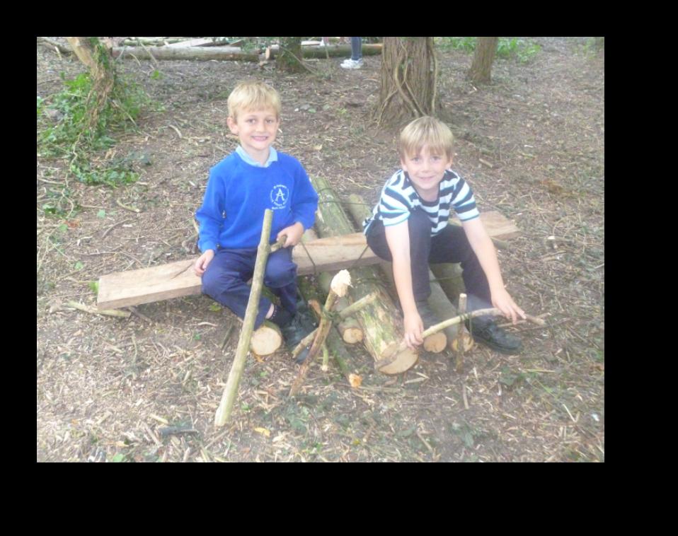 forest school pupils