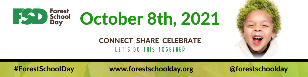 Forest School Day banner 8th October 2021